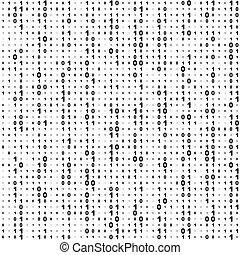 Binärcode-Hintergrund