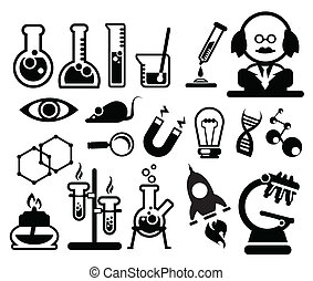 Biologie-Symbole.