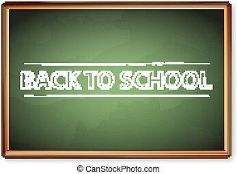 Blackboard zurück zur Schule