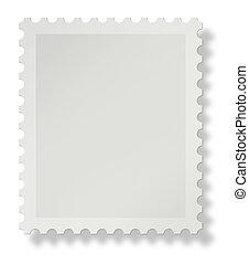 Blanke Briefmarke