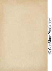 Blankes Pergamentpapier