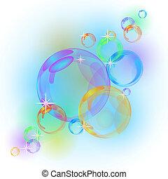 Blasenvektor-Hintergrund deaktivieren