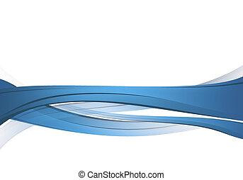 Blaue abstrakte Komposition