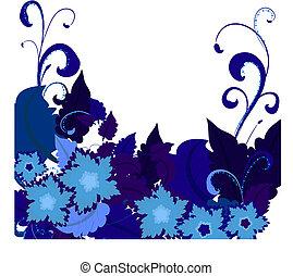 Blaue Blumen 2
