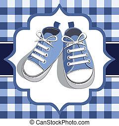 Blaue Kinder Sneaker
