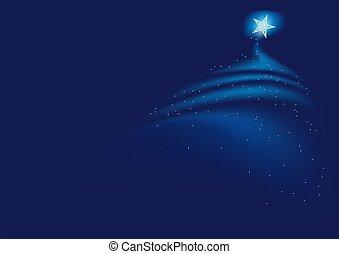 Blaue Weihnachten