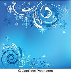 Blaue Weihnachtsgeschichte