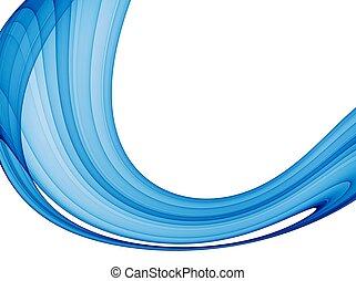 Blaue Welle abbrechen