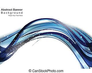 Blaue Wellen-Hintergrund deaktivieren