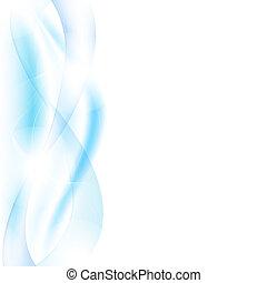 blaue wellen, verwischen