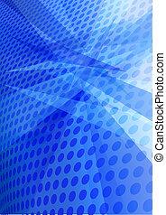 Blauer, abstrakter Hintergrund.