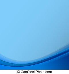 Blauer, abstrakter Hintergrund. Vector Illustration .