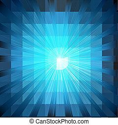 Blauer Ausbruch