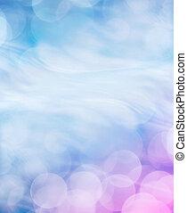 Blauer Background.