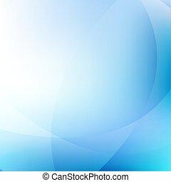 Blauer, dynamischer Hintergrund.