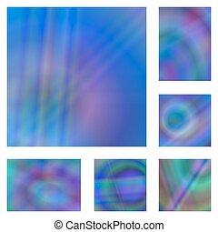 Blauer Farbverlauf abstrakter Hintergrundsatz.