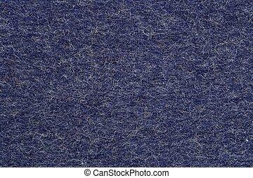 Blauer Filz Hintergrund.