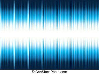 Blauer gestreifter Hintergrund