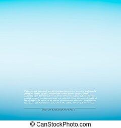 Blauer, glatter Hintergrund, Vektorgrafik.