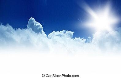 Blauer Himmel, Hinterland
