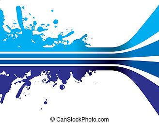 Blauer Platsch
