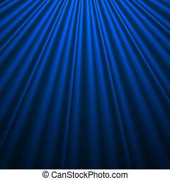 Blauer Seidenhintergrund