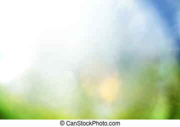 Blauer und grüner abstrakter Hintergrund