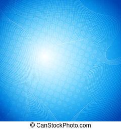 Blauer Vektor abstrakter Hintergrund