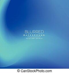 Blauer Vektor Hintergrund.