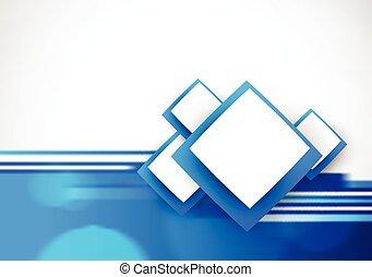 Blauer, weicher Hintergrund.