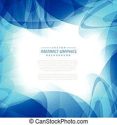 Blaues, abstraktes Hintergrunddesign.