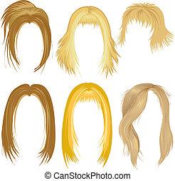 Blonde Haare