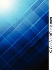 Blue Abstract Raster formt Hintergrund geometric Hintergrund.