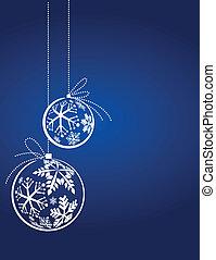 Blue Christmas Hintergrund.