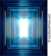 Blue Line Hintergrund.