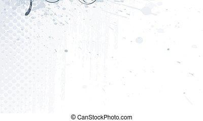 blumen-, hintergrund, vektor