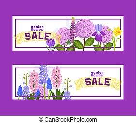 Blumen und Blumen-Vektormuster Wasserfarben Grußkarte Einladung für Hochzeit Geburtstag blühende Hydrangea iris Frühlingshintergrund setzen Illustration Hintergrund.