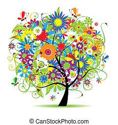 Blumenbaum schön