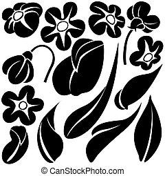 Blumenelemente C