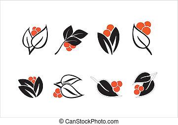 Blumenelemente