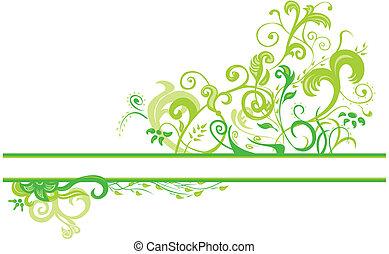 Blumenfeder-Design