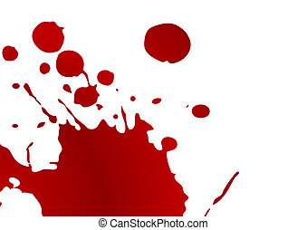 Blut splat