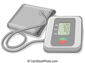 Blutdruckmonitor.