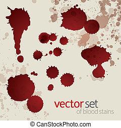 Blutflecken, Set 6