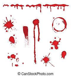 Blutspritzer - Vektor