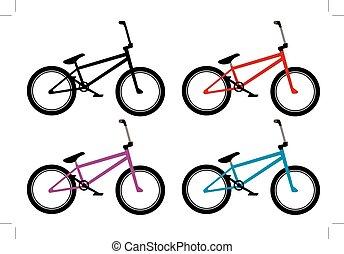 Bmx Bike Set.