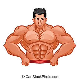 Bodybuilder Symbol.