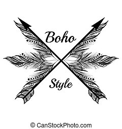 Boho Style Design.