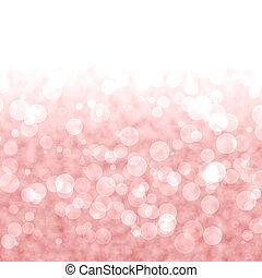 Bokeh vibrant rot oder rosa Hintergrund mit verschwommenen Lichtern