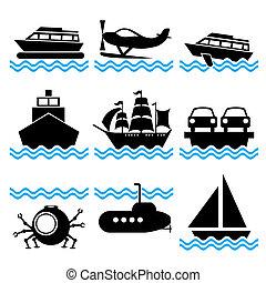 Boot-Ikonen